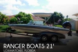 2011 Ranger 211 VS Reata