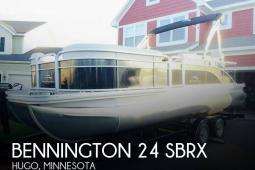 2015 Bennington 24 SBRX