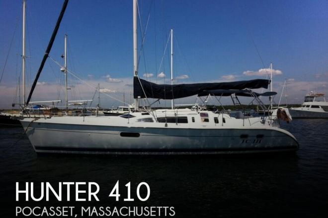 2000 Hunter 410 - For Sale at Pocasset, MA 2559 - ID 95992