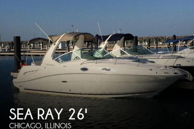 2005 Sea Ray 260 Sundancer - For Sale at Chicago, IL 60687 - ID 93720