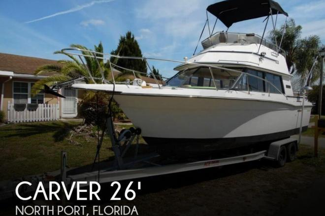 1985 Carver Santa Cruz 2667 - For Sale at Englewood, FL 34295 - ID 83908