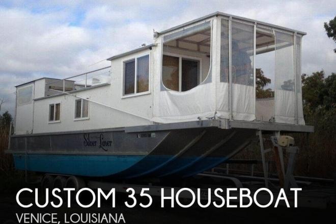 2009 Custom Built 35 Diesel Houseboat - For Sale at Venice, LA 70091 - ID 94226