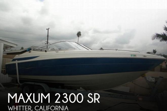 1998 Maxum 2300 SR - For Sale at Whittier, CA 90601 - ID 83654