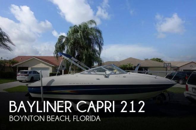 2005 Bayliner Capri 212 - For Sale at Boynton Beach, FL 33424 - ID 97045