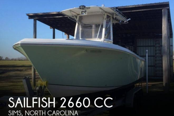 2006 Sailfish 2660 CC - For Sale at Sims, NC 27880 - ID 82989