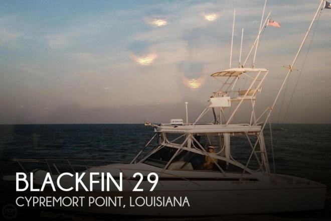 1996 Blackfin 29 - For Sale at Cypremort Point, LA 70538 - ID 82682