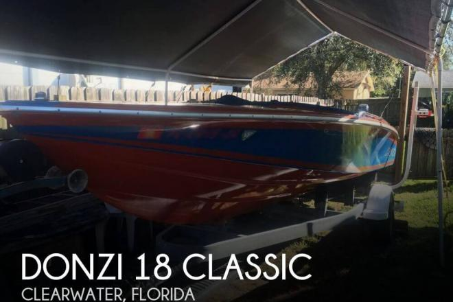 1980 Donzi 18 Classic - For Sale at Clearwater, FL 33755 - ID 82460