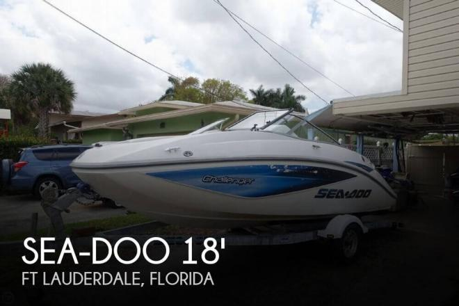 2006 Sea Doo Challenger 180 CS - For Sale at Ft Lauderdale, FL 33331 - ID 94228