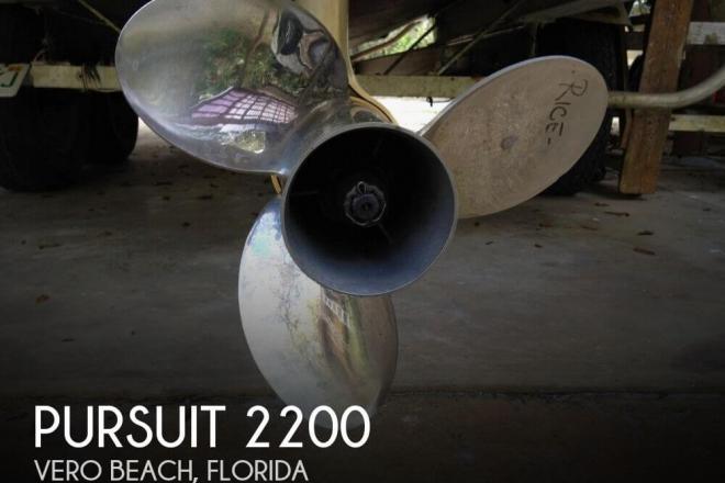 1988 Pursuit 2200 - For Sale at Vero Beach, FL 32960 - ID 82635