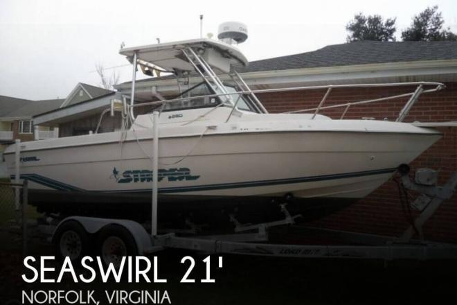 1995 Seaswirl 2150 Striper - For Sale at Norfolk, VA 23501 - ID 81534