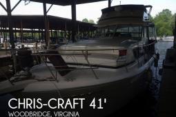 1987 Chris Craft 410 Constellation