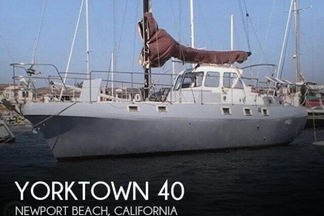 1985 Yorktown 40 - For Sale at Newport Beach, CA 92658 - ID 98078