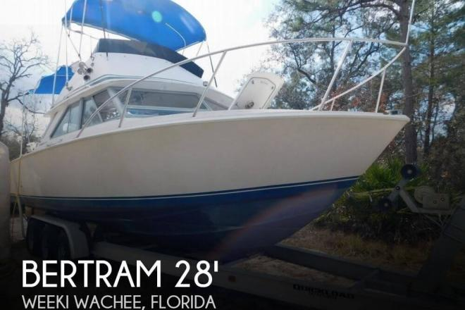 1978 Bertram 28 Sport Fisherman - For Sale at Weeki Wachee, FL 34606 - ID 81959