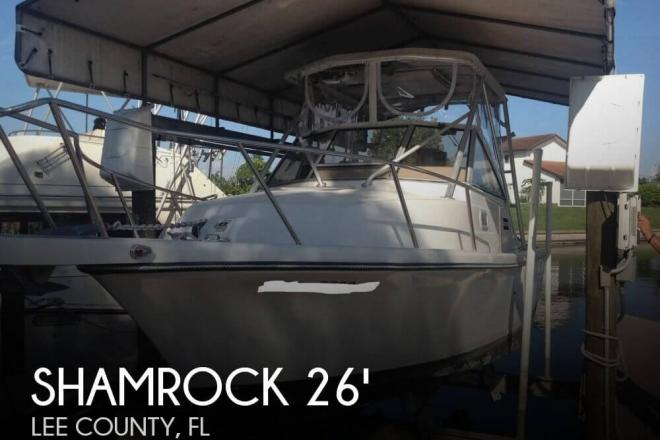 1996 Shamrock 260 Express - For Sale at Cape Coral, FL 33990 - ID 93875