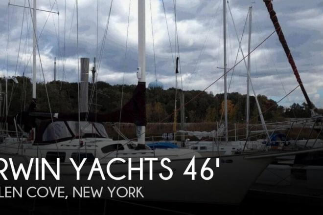 1980 Irwin 46 World Cruiser - For Sale at Glen Cove, NY 11542 - ID 80014