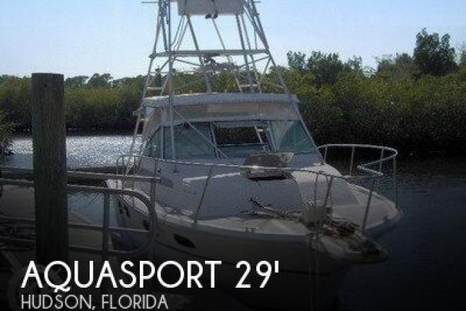 1988 Aquasport 290 Tournament Master - For Sale at Hudson, FL 34667 - ID 81893