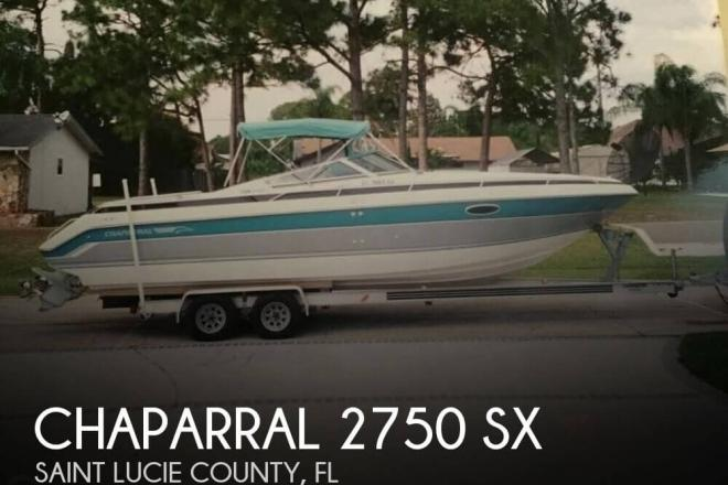 1990 Chaparral 2750 SX - For Sale at Port St Lucie, FL 34952 - ID 79876