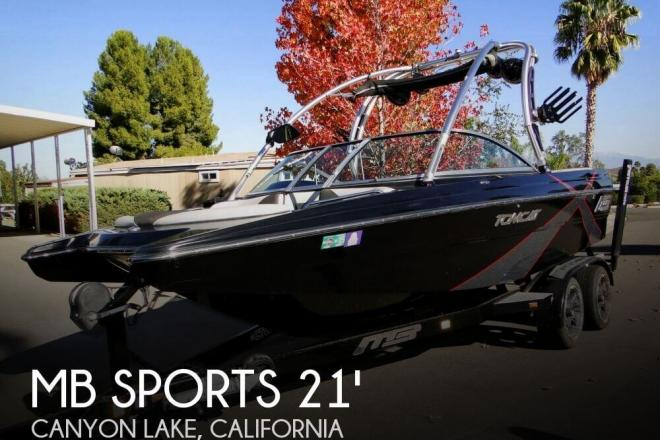2012 MB Sports F21 Tomcat - For Sale at Canyon Lake, CA 92587 - ID 79825