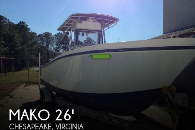 1994 Mako 261b Center Console - For Sale at Chesapeake, VA 23320 - ID 80899