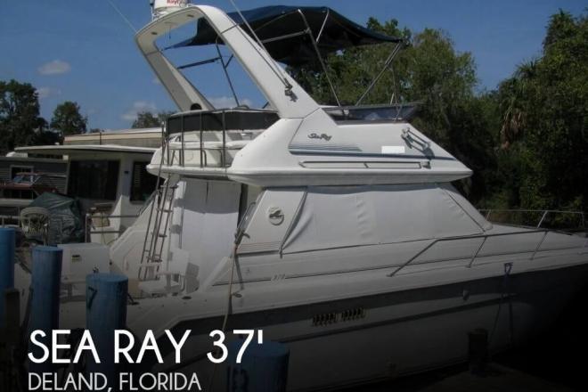 1991 Sea Ray 370 Sedan Bridge - For Sale at Deland, FL 32720 - ID 79613