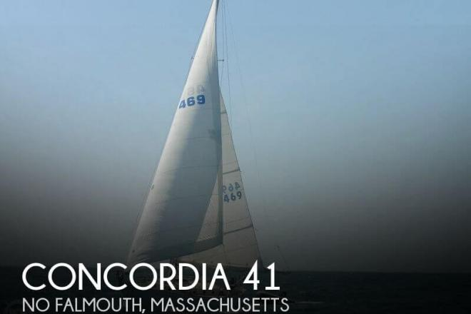 1956 Concordia 41 - For Sale at Mattapoisett, MA 2739 - ID 79535