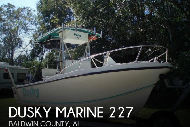1994 Dusky 227 - For Sale at Foley, AL 36535 - ID 79324