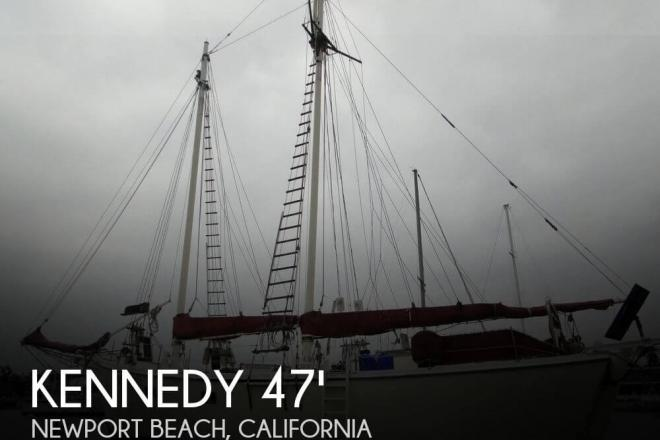 1974 Kennedy 47 Gaff Rigged Schooner - For Sale at Newport Beach, CA 92658 - ID 95650
