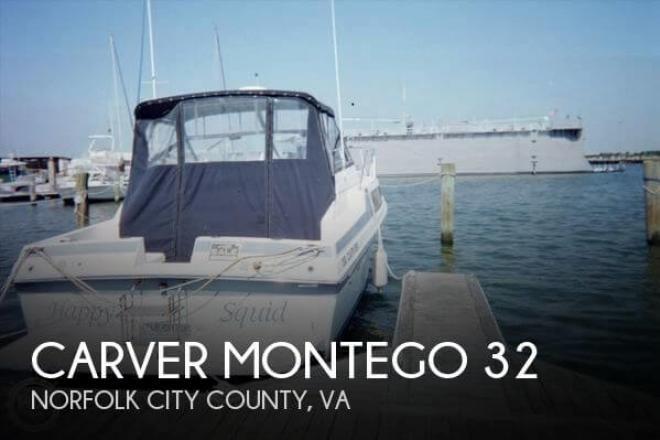 1987 Carver Montego 32 - For Sale at Norfolk, VA 23501 - ID 79237