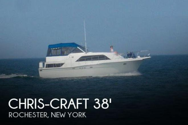 1988 Chris Craft 381 Catalina - For Sale at Rochester, NY 14602 - ID 78058