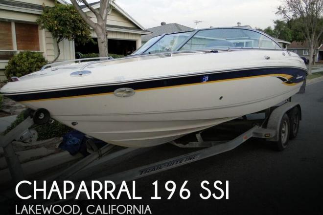 2001 Chaparral 196 SSi - For Sale at Lakewood, CA 90711 - ID 79036