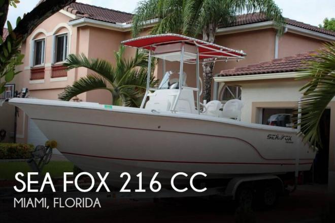 2007 Sea Fox 216 CC - For Sale at Miami, FL 33177 - ID 77716