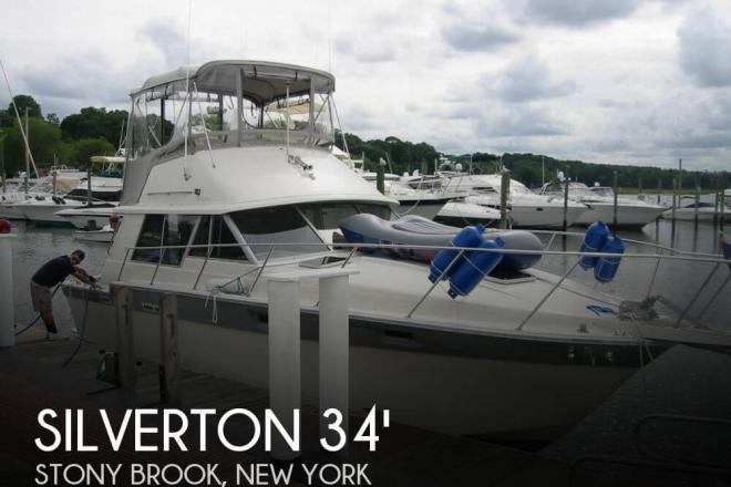 1987 Silverton 34 Convertible - For Sale at Stony Brook, NY 11790 - ID 77213