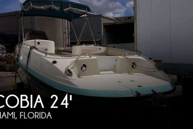 1995 Cobia 256 Sport Deck - For Sale at Miami, FL 33177 - ID 77087