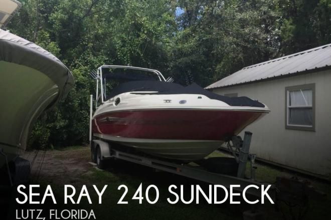 2007 Sea Ray 240 Sundeck - For Sale at Lutz, FL 33548 - ID 75566