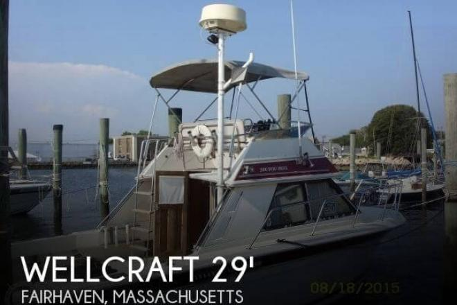 1984 Wellcraft 2900 Sport Bridge - For Sale at Fairhaven, MA 2719 - ID 77048