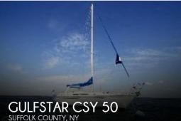 1987 Gulfstar CSY 50