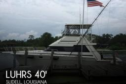 1987 Luhrs 40 Convertible Sportfish