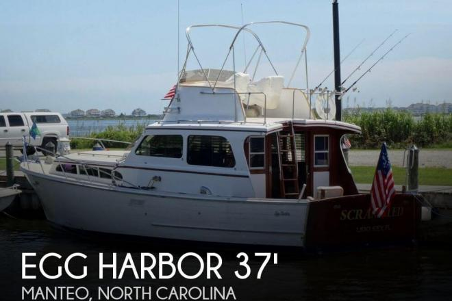 1967 Egg Harbor 37 Vintage Motor Yacht - For Sale at Manteo, NC 27954 - ID 75063