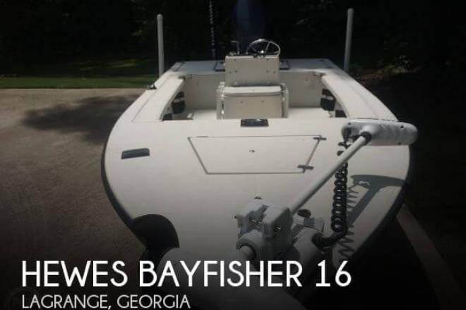 1998 Hewes Bayfisher 16 - For Sale at Lagrange, GA 30240 - ID 75745