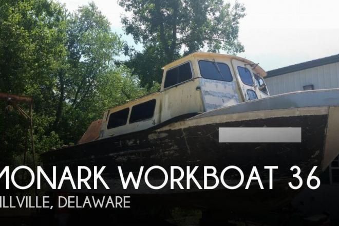 1980 Monark Workboat 36 - For Sale at Millville, DE 19967 - ID 74639