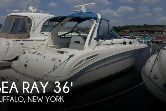 2003 Sea Ray 360 Sundancer - For Sale at Buffalo, NY 14212 - ID 74027