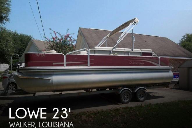 2011 Lowe Suncruiser Pontoon Boat Ski & Fish 23 SF234 - For Sale at Walker, LA 70785 - ID 73745
