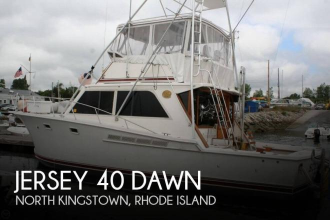 1985 Jersey 40 Dawn - For Sale at North Kingstown, RI 2852 - ID 73384