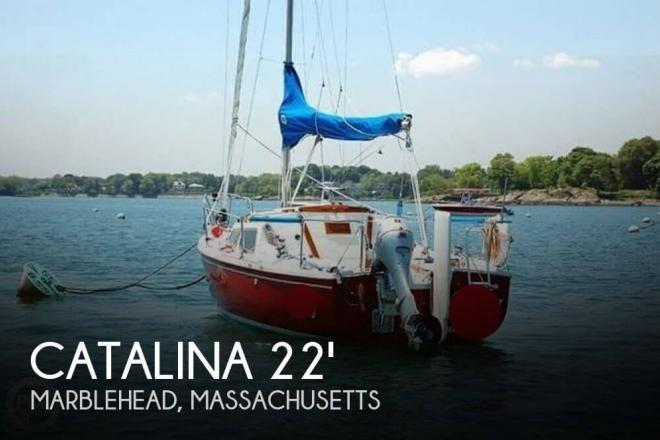 1974 Catalina 22 Swing Keel - For Sale at Marblehead, MA 1945 - ID 73515