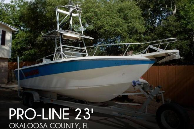 1991 Pro Line 230 Sportsman - For Sale at Fort Walton Beach, FL 32547 - ID 72654