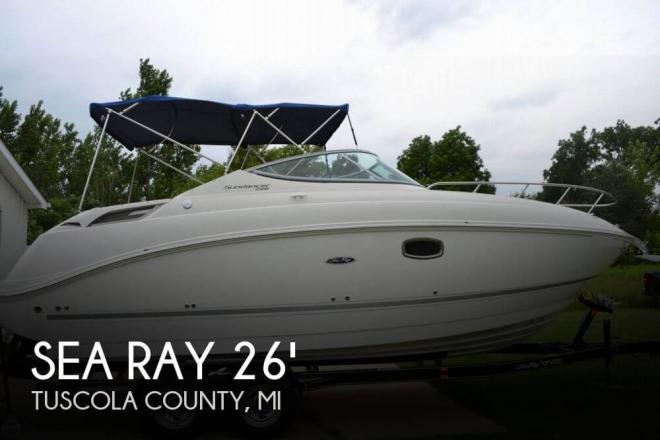 2011 Sea Ray 260 Sundancer - For Sale at Silverwood, MI 48760 - ID 72499