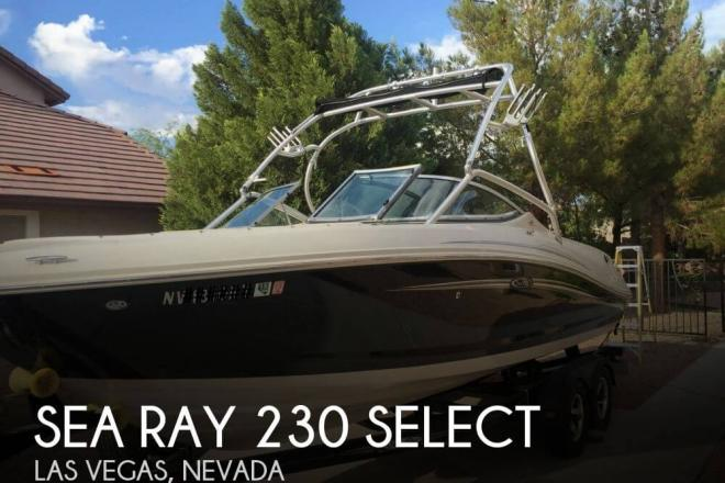 2008 Sea Ray 230 Select - For Sale at Las Vegas, NV 89102 - ID 72949
