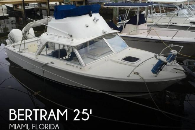 1969 Bertram 25 SF Flybridge - For Sale at Miami, FL 33177 - ID 72818