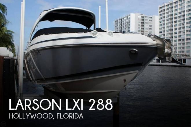 2012 Larson LXI 288 - For Sale at Hollywood, FL 33081 - ID 78732