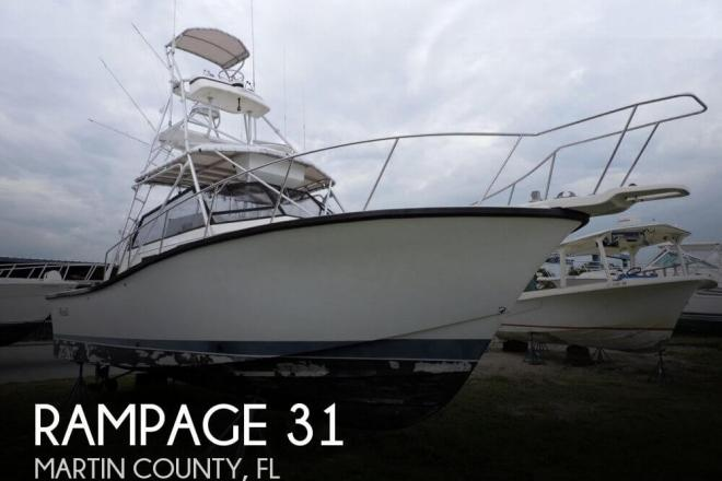 1993 Rampage 31 - For Sale at Stuart, FL 34994 - ID 72048